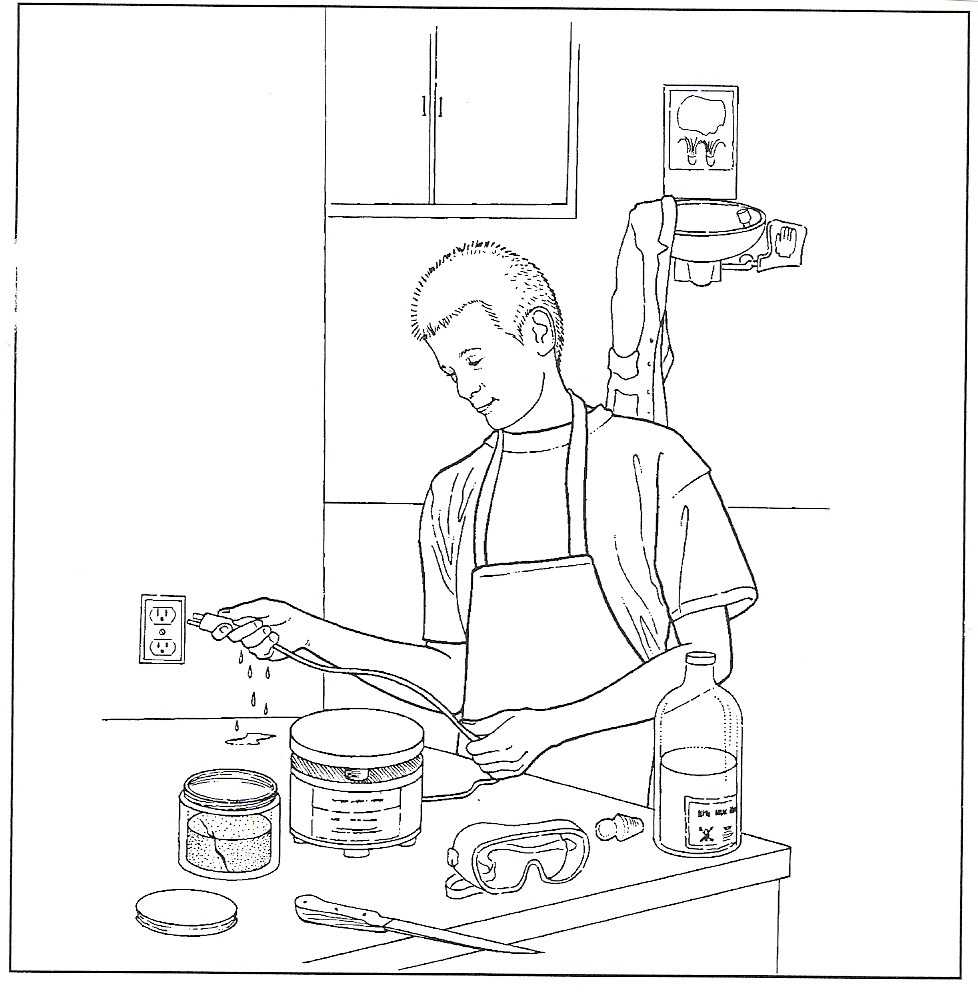 Worksheets Lab Safety Cartoon Worksheet thomasthinktank licensed for non commercial use only lab safety what precautions is this student not following how can the improve his procedures